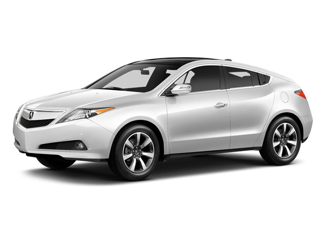 Aspen White Pearl 2013 Acura ZDX Pictures ZDX Utility 4D AWD V6 photos front view