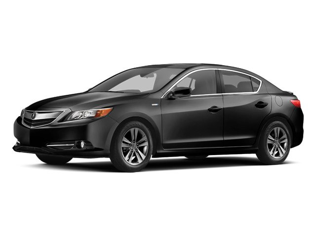 Crystal Black Pearl 2013 Acura ILX Pictures ILX Sedan 4D Hybrid photos front view