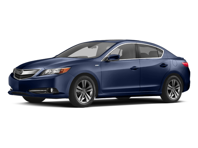 Fathom Blue Pearl 2013 Acura ILX Pictures ILX Sedan 4D Hybrid photos front view
