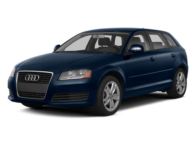 Deep Sea Blue Pearl 2013 Audi A3 Pictures A3 Hatchback 4D 2.0T Premium photos front view