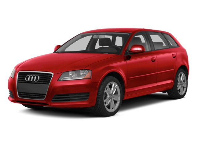 Brilliant Red 2013 Audi A3 Pictures A3 Hatchback 4D 2.0T Premium photos front view