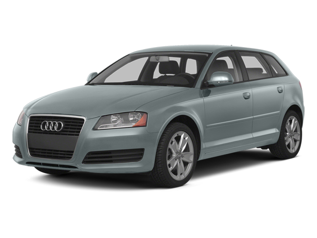 Monza Silver Metallic 2013 Audi A3 Pictures A3 Hatchback 4D 2.0T Premium photos front view