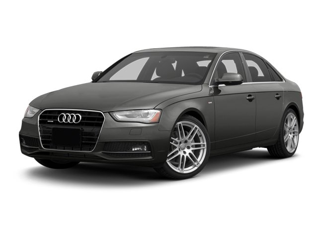 Monsoon Gray Metallic 2013 Audi A4 Pictures A4 Sedan 4D 2.0T Premium Plus AWD photos front view