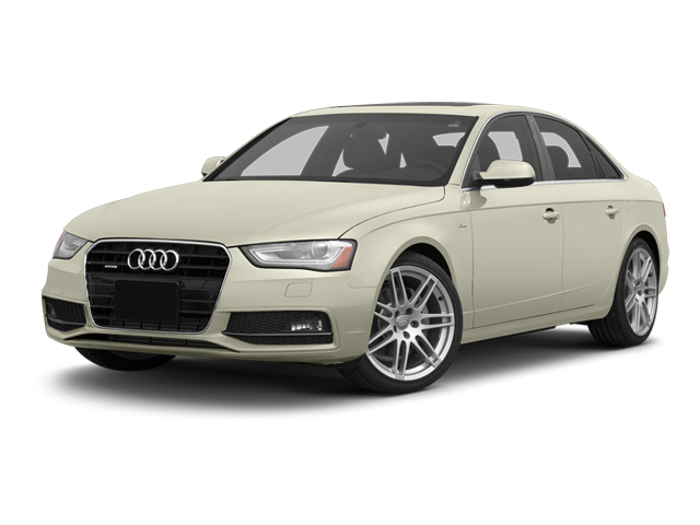 Glacier White Metallic 2013 Audi A4 Pictures A4 Sedan 4D 2.0T Premium Plus AWD photos front view