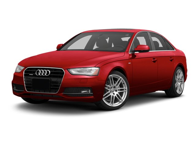 Brilliant Red 2013 Audi A4 Pictures A4 Sedan 4D 2.0T Premium Plus AWD photos front view