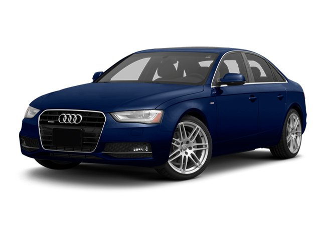 Scuba Blue Metallic 2013 Audi A4 Pictures A4 Sedan 4D 2.0T Premium Plus AWD photos front view