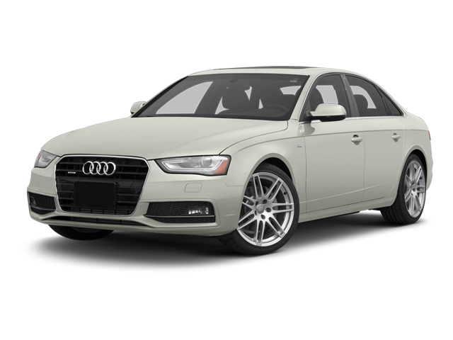 Ibis White 2013 Audi A4 Pictures A4 Sedan 4D 2.0T Premium Plus AWD photos front view