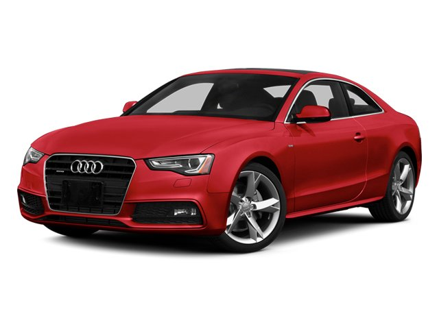 Brilliant Red 2013 Audi A5 Pictures A5 Coupe 2D Prestige AWD photos front view