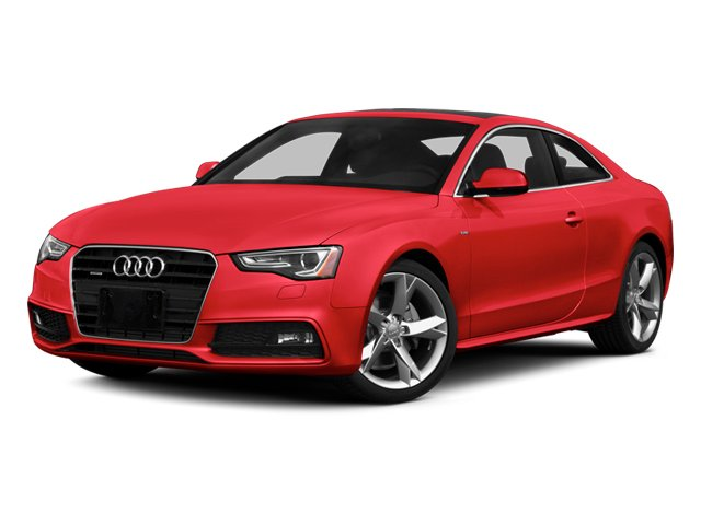 Misano Red 2013 Audi A5 Pictures A5 Coupe 2D Prestige AWD photos front view