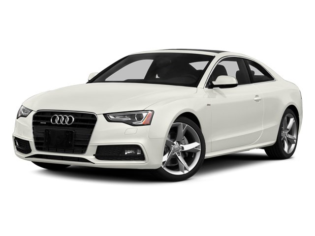 Ibis White 2013 Audi A5 Pictures A5 Coupe 2D Prestige AWD photos front view