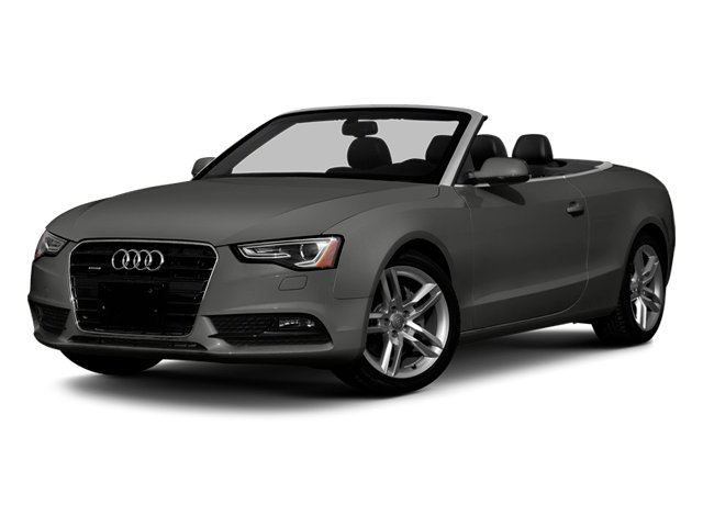 Monsoon Gray Metallic 2013 Audi A5 Pictures A5 Convertible 2D Premium 2WD photos front view