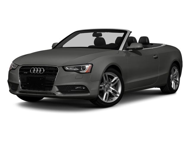 Monsoon Gray Metallic 2013 Audi A5 Pictures A5 Convertible 2D Prestige 2WD photos front view