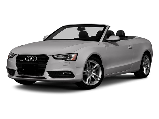 Cuvee Silver Metallic 2013 Audi A5 Pictures A5 Convertible 2D Premium 2WD photos front view