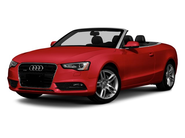 Brilliant Red 2013 Audi A5 Pictures A5 Convertible 2D Prestige 2WD photos front view