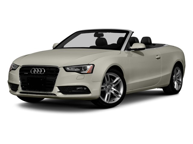 Ice Silver Metallic 2013 Audi A5 Pictures A5 Convertible 2D Premium 2WD photos front view