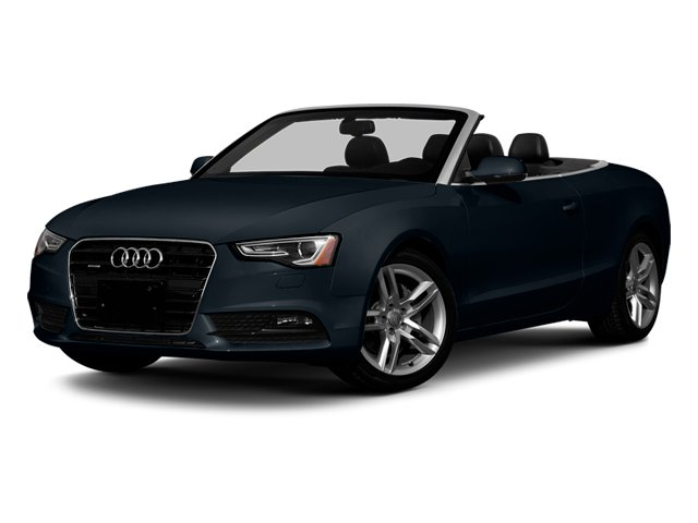 Moonlight Blue Metallic 2013 Audi A5 Pictures A5 Convertible 2D Premium 2WD photos front view