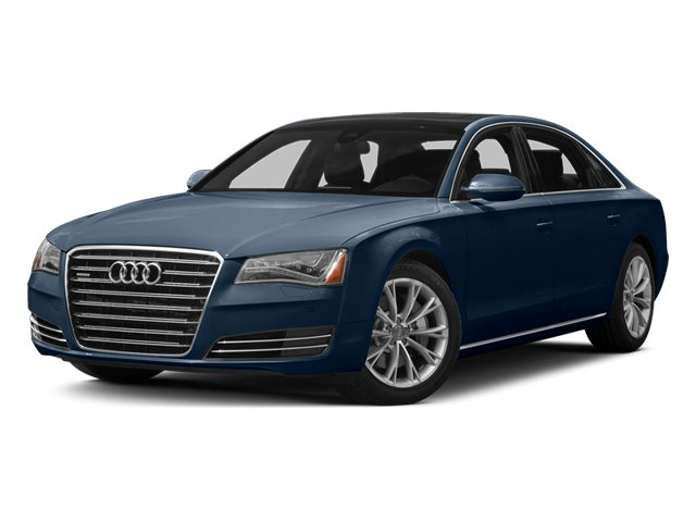 Night Blue Pearl 2013 Audi A8 L Pictures A8 L Sedan 4D 3.0T L AWD V6 Turbo photos front view