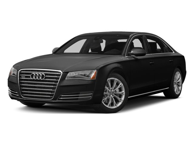 Phantom Black Pearl 2013 Audi A8 L Pictures A8 L Sedan 4D 6.3 L AWD W12 photos front view