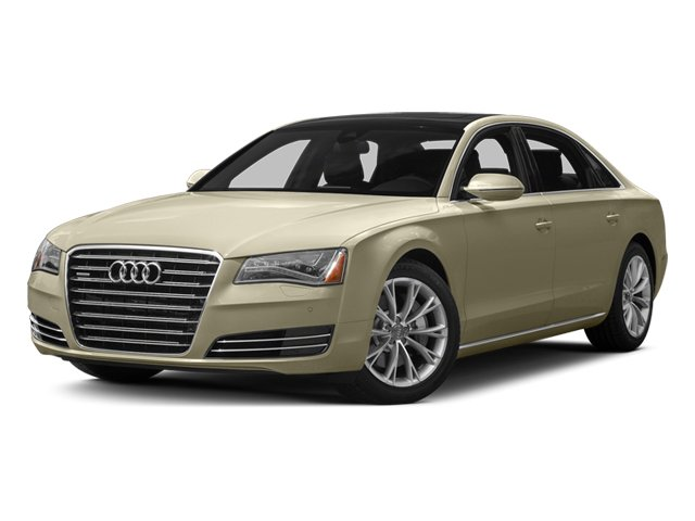 Savana Beige Pearl 2013 Audi A8 L Pictures A8 L Sedan 4D 3.0T L AWD V6 Turbo photos front view