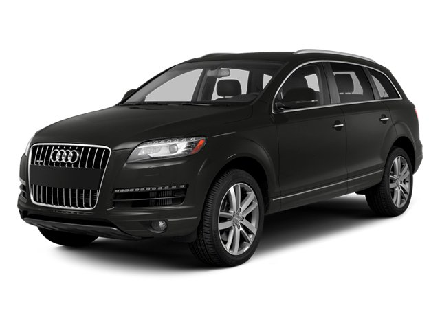 Lava Gray Pearl Effect 2013 Audi Q7 Pictures Q7 Utility 4D 3.0 TDI Prestige AWD photos front view
