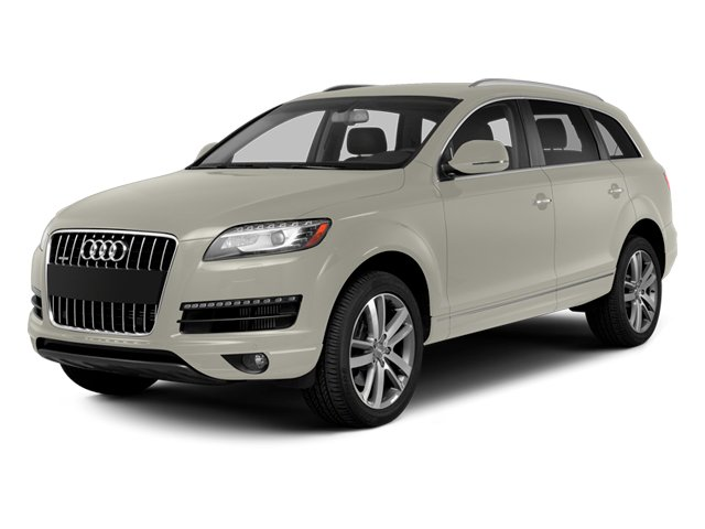 Ice Silver Metallic 2013 Audi Q7 Pictures Q7 Utility 4D 3.0 TDI Prestige S-Line A photos front view