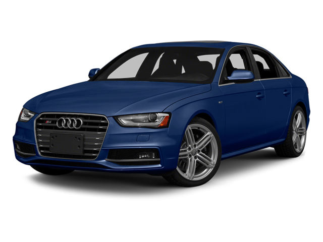 Estoril Blue Crystal 2013 Audi S4 Pictures S4 Sedan 4D S4 Prestige AWD photos front view