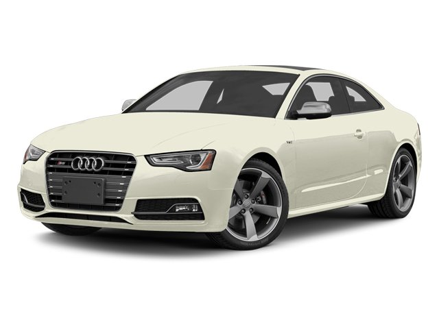 Glacier White Metallic 2013 Audi S5 Pictures S5 Coupe 2D S5 Prestige AWD photos front view