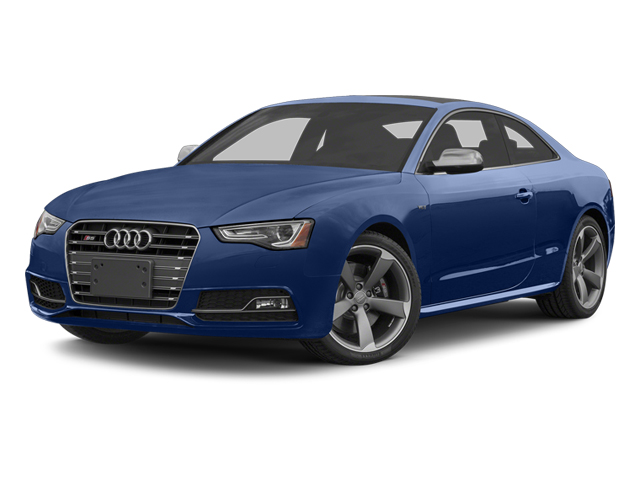 Estoril Blue Crystal 2013 Audi S5 Pictures S5 Coupe 2D S5 Prestige AWD photos front view