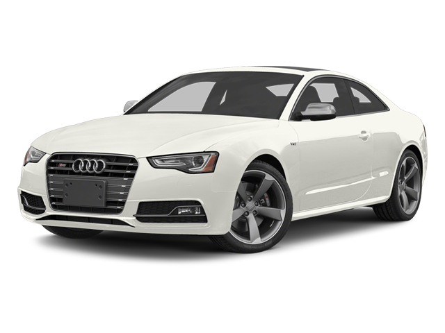 Ibis White 2013 Audi S5 Pictures S5 Coupe 2D S5 Prestige AWD photos front view