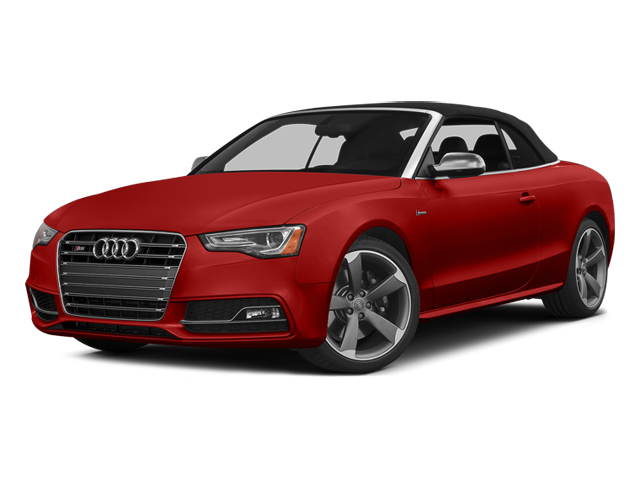 Volcano Red Metallic 2013 Audi S5 Pictures S5 Convertible 2D S5 Prestige AWD photos front view