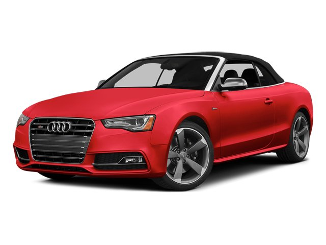 Misano Red Pearl 2013 Audi S5 Pictures S5 Convertible 2D S5 Prestige AWD photos front view
