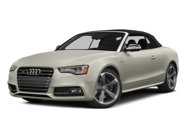 Ice Silver Metallic 2013 Audi S5 Pictures S5 Convertible 2D S5 Prestige AWD photos front view