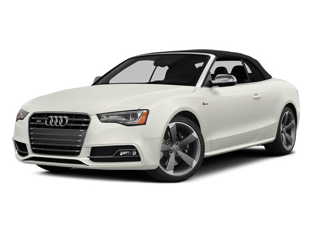 Ibis White 2013 Audi S5 Pictures S5 Convertible 2D S5 Prestige AWD photos front view