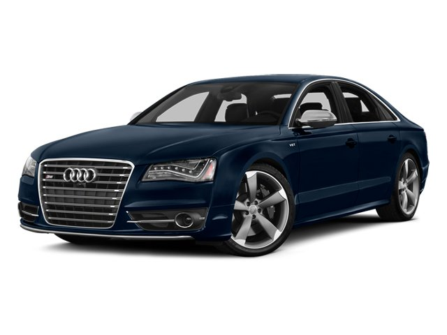 Night Blue Pearl 2013 Audi S8 Pictures S8 Sedan 4D S8 AWD photos front view