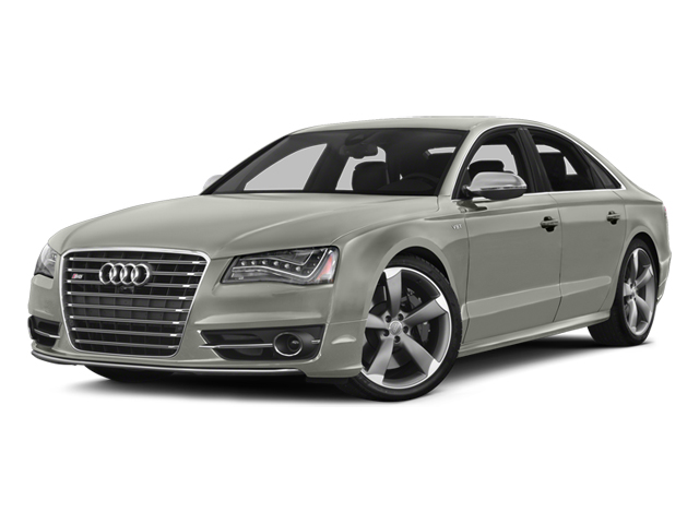 Prism Silver Crystal 2013 Audi S8 Pictures S8 Sedan 4D S8 AWD photos front view