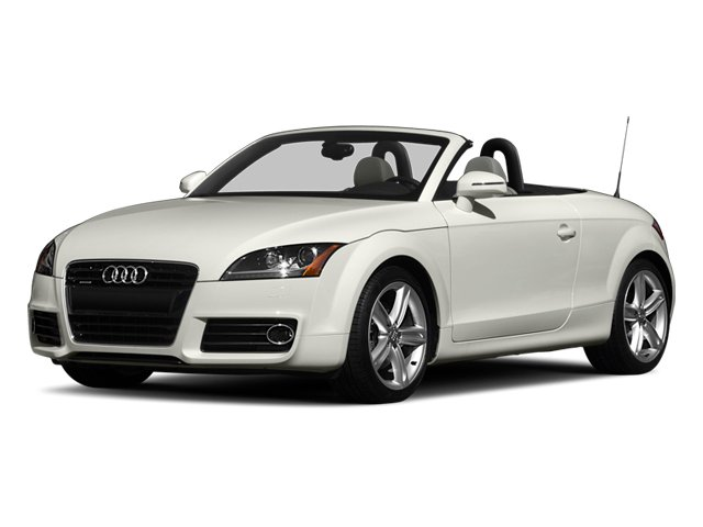 Ibis White 2013 Audi TT Pictures TT Roadster 2D Prestige AWD photos front view