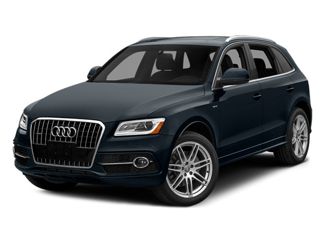 Moonlight Blue Metallic 2013 Audi Q5 Pictures Q5 Utility 4D 2.0T Prestige AWD Hybrid photos front view
