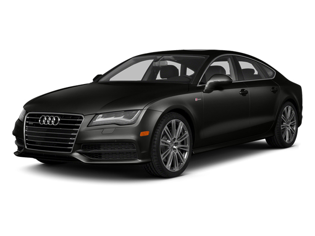 Havanna Black Metallic 2013 Audi A7 Pictures A7 Sedan 4D 3.0T Premium Plus AWD photos front view
