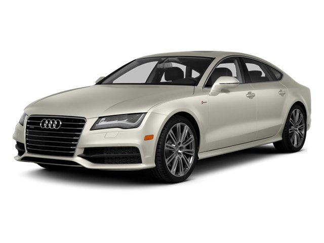 Ice Silver Metallic 2013 Audi A7 Pictures A7 Sedan 4D 3.0T Premium Plus AWD photos front view