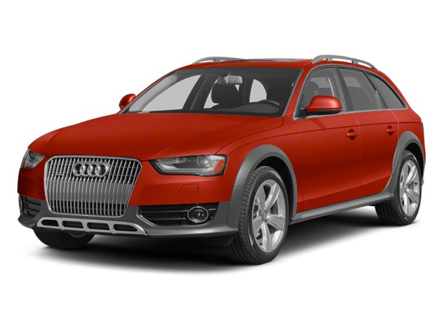 Volcano Red Metallic 2013 Audi allroad Pictures allroad Wagon 4D Prestige AWD photos front view