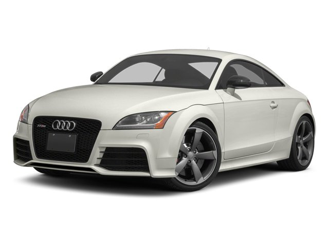 Ibis White 2013 Audi TT RS Pictures TT RS Coupe 2D RS AWD photos front view