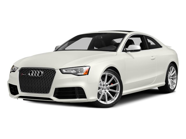 Ibis White 2013 Audi RS 5 Pictures RS 5 Coupe 2D RS5 AWD V8 photos front view