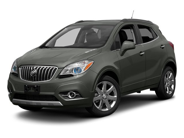 Satin Steel Gray Metallic 2013 Buick Encore Pictures Encore Utility 4D AWD I4 Turbo photos front view