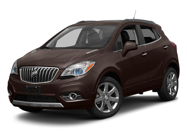 Deep Espresso Brown Metallic 2013 Buick Encore Pictures Encore Utility 4D AWD I4 Turbo photos front view