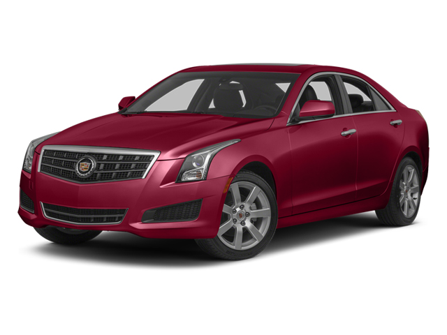 Crystal Red Tintcoat 2013 Cadillac ATS Pictures ATS Sedan 4D Luxury photos front view