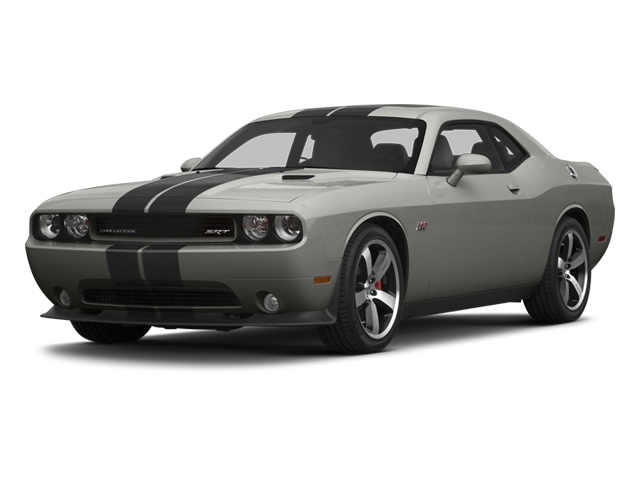 Billet Silver Metallic 2013 Dodge Challenger Pictures Challenger Coupe 2D SRT-8 V8 photos front view