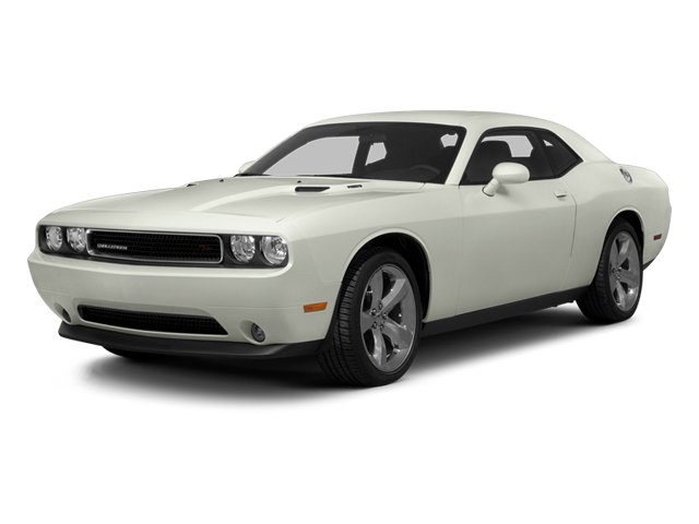 Bright White 2013 Dodge Challenger Pictures Challenger Coupe 2D R/T V8 photos front view