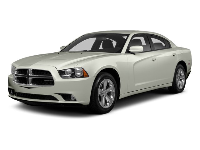 Bright White 2013 Dodge Charger Pictures Charger Sedan 4D R/T AWD V8 photos front view