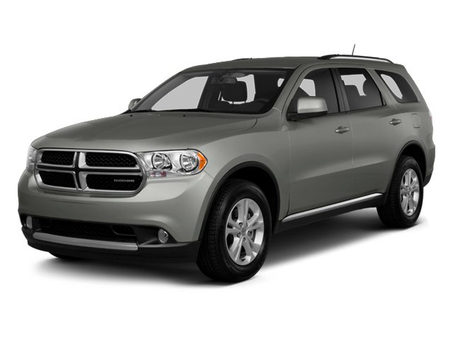 Billet Silver Metallic 2013 Dodge Durango Pictures Durango Utility 4D Crew 2WD photos front view