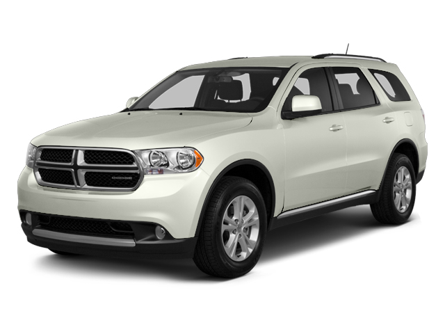 Bright White 2013 Dodge Durango Pictures Durango Utility 4D Crew 2WD photos front view
